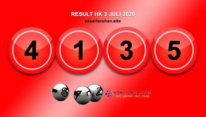 RESULT HONGKONG 2 JULI 2020