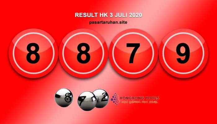 RESULT HONGKONG 3 JULI 2020