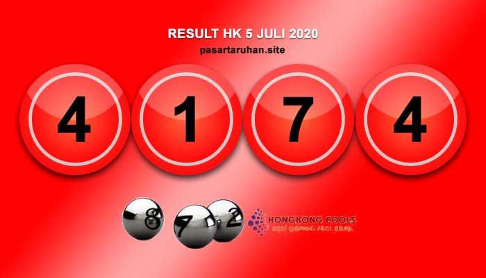 RESULT HONGKONG 5 JULI 2020
