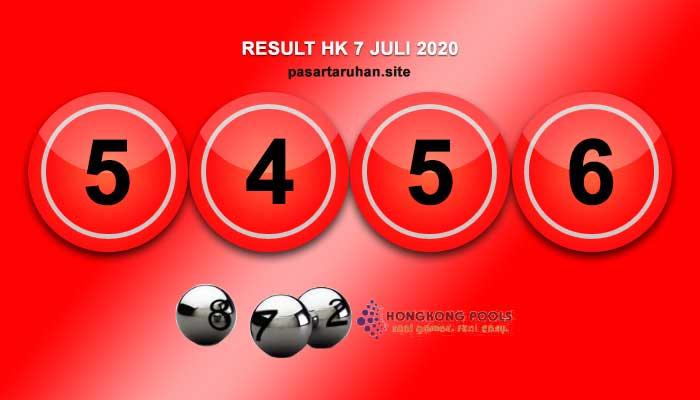 RESULT HONGKONG 7 JULI 2020