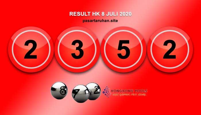 RESULT HONGKONG 8 JULI 2020