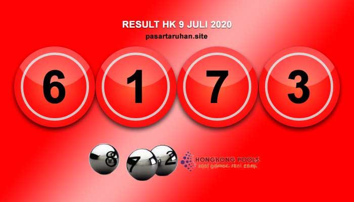 RESULT HONGKONG 9 JULI 2020