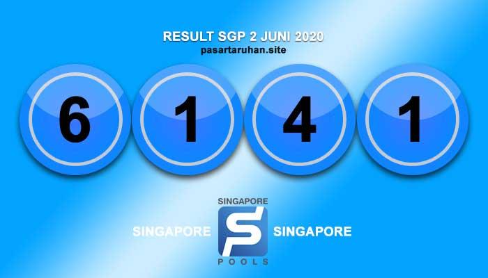 RESULT SINGAPORE 2 JULI 2020