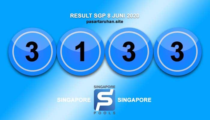 RESULT SINGAPORE 8 JULI 2020