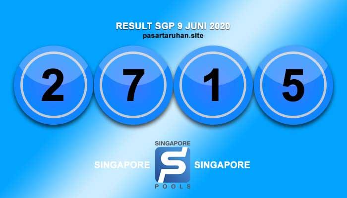 RESULT SINGAPORE 9 JULI 2020